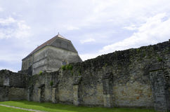 Carta, Roemenië - 8 kan 2016 - de cisterciënzer abdij van Transsylvanië Stock Afbeeldingen