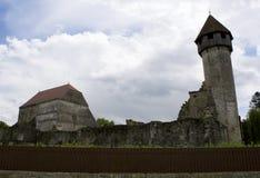 Carta, Roemenië - 8 kan 2016 - de cisterciënzer abdij van Transsylvanië Stock Afbeelding
