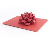 Carta roja fotos de archivo libres de regalías