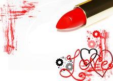 Carta romántica Stock de ilustración