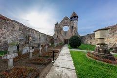 Carta Monastery former Cistercian Benedictine religious archit. Carta, Romania. The old ruined cistercian abbey from Transylvania Royalty Free Stock Photos
