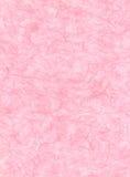 Carta rosa della fibra Immagini Stock Libere da Diritti