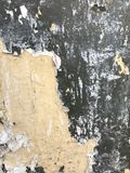 Carta rotta sulla parete Elementi e fondo grafici Fotografia Stock Libera da Diritti