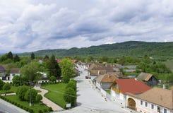 Carta, Rumania - 8 puede 2016 - la abadía cisterciense de Transilvania foto de archivo