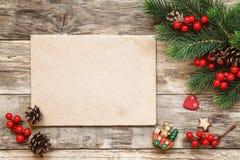 Carta a Santa Fotografía de archivo libre de regalías