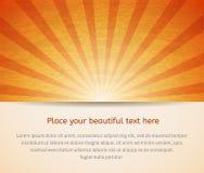 Carta soleggiata per il vostro affare. Fotografia Stock Libera da Diritti