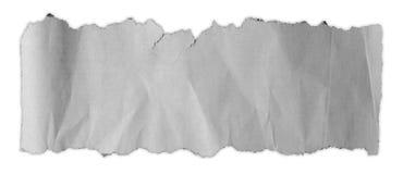 Carta strappata lacerata Fotografia Stock Libera da Diritti