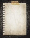 Carta su roccia Fotografie Stock Libere da Diritti