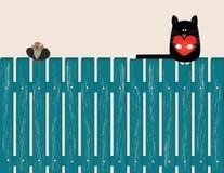 Carta sul giorno di S. Valentino Immagini Stock Libere da Diritti