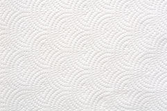 Carta velina bianca Fotografia Stock