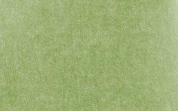 Carta verde pallida della carta del mestiere, fondo di struttura Fotografia Stock
