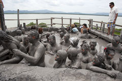 Ванна грязи Стоковое Фото