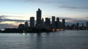 Cartagena - Колумбия Skyscapers видеоматериал