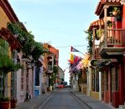 переулок cartagena Стоковое Фото