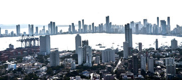 Cartagena from above Stock Photography