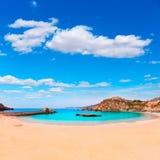 Cartagena Cala Cortina beach in Murcia Spain Stock Images