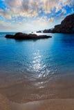 Cartagena Cala Cortina beach in Murcia Spain Royalty Free Stock Photography