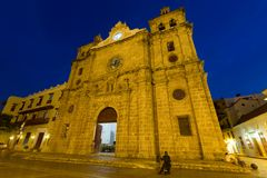 Cartagena cathedral. stock photography
