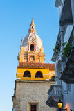 Cartagena Cathedral Spire Royalty Free Stock Image