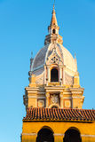 Cartagena Cathedral Spire Stock Photos