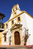 Cartagena church Royalty Free Stock Images