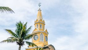 Cartagena City Clock Tower Colombia South America royalty free stock image