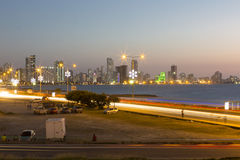 Cartagena city view at night, Colombia Royalty Free Stock Photo