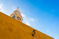 Cartagena Clock Gate Royalty Free Stock Photo