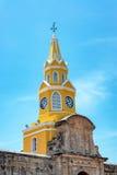 Cartagena Clock Tower Gate Royalty Free Stock Image