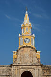 Cartagena Clock Tower Stock Photos