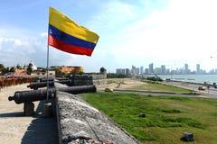 Cartagena. Colombia Arkivbild