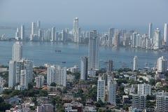 Cartagena Colombia arkivfoto