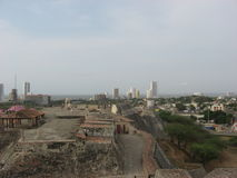 Cartagena Colombia Arkivbilder