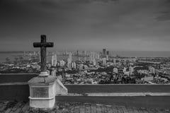 Cartagena Colombia. Cartagena from above captured from Convento de la Popa Royalty Free Stock Photos