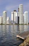 Cartagena, Colombia, Bocagrande Stock Images