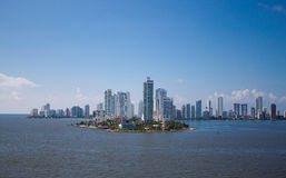 Cartagena, Colombia. City ​​of Cartagena in Colombia view from the water Stock Photo