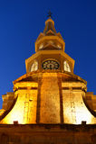 Cartagena Colombia Clock tower Stock Photography