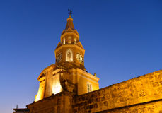 Cartagena Colombia Clock tower Stock Image