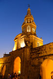 Cartagena Colombia Clock tower Stock Images