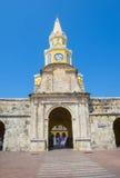 Cartagena Colombia Clock tower Stock Photos