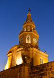 Cartagena Colombia Clock tower Royalty Free Stock Photos