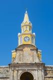 Cartagena Colombia Clock tower Stock Photo