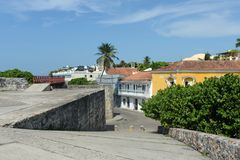 Cartagena. Colombia. Cartagena is the fifth largest city in Colombia Royalty Free Stock Photo
