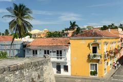 Cartagena. Colombia. Cartagena is the fifth largest city in Colombia Royalty Free Stock Photography