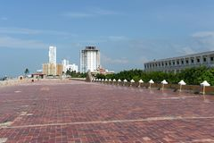 Cartagena. Colombia. Cartagena is the fifth largest city in Colombia Royalty Free Stock Images