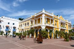 Cartagena. Colombia. Cartagena is the fifth largest city in Colombia Royalty Free Stock Photos