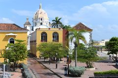 Cartagena. Colombia. Cartagena is the fifth largest city in Colombia Stock Photography