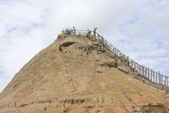 Volcan DE Totumo Royalty-vrije Stock Afbeeldingen