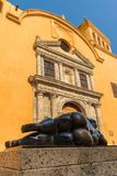 A typical view of Cartagena Colombia. stock images