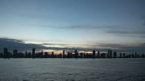 Cartagena - Colombia Skyscapers stock videobeelden